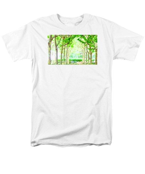 La Defense Platanuses Men's T-Shirt  (Regular Fit) by Oleg Zavarzin