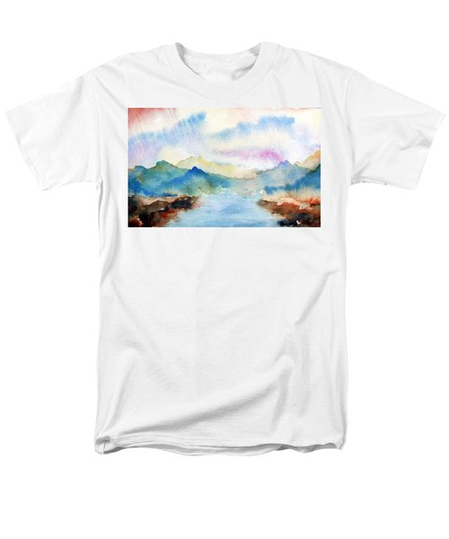 Lake Chuzenji Nikko Men's T-Shirt  (Regular Fit)