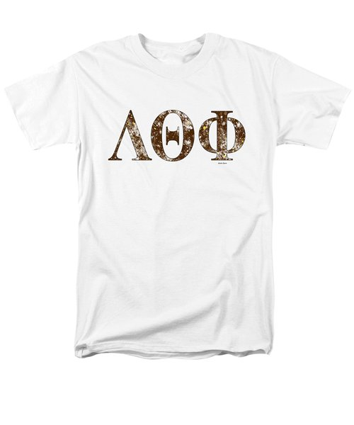 Lambda Theta Phi - White Men's T-Shirt  (Regular Fit) by Stephen Younts
