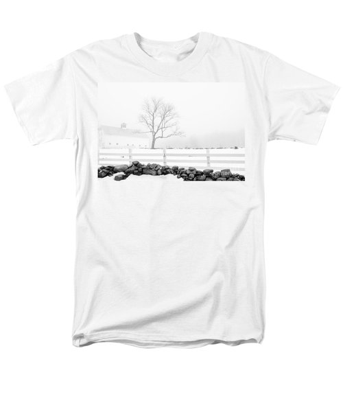 Men's T-Shirt  (Regular Fit) featuring the photograph Late Winter by Alana Ranney