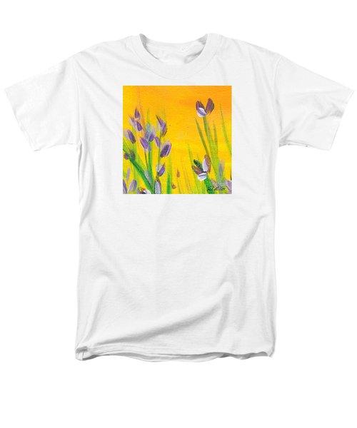 Lavender - Hanging Position 1 Men's T-Shirt  (Regular Fit) by Val Miller
