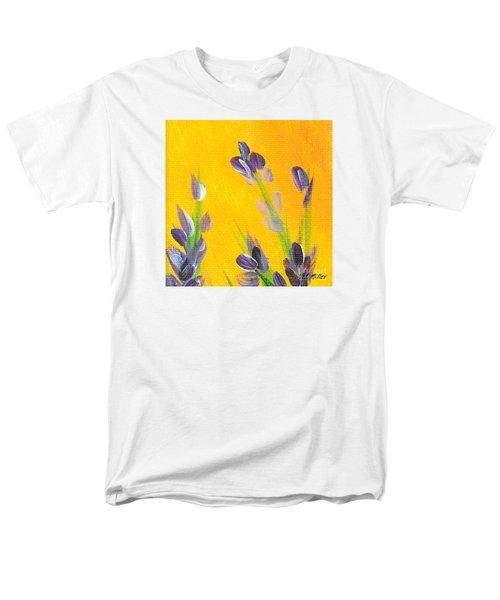 Lavender - Hanging Position 2 Men's T-Shirt  (Regular Fit) by Val Miller
