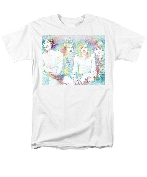 Led Zeppelin Tie Dye Men's T-Shirt  (Regular Fit) by Dan Sproul