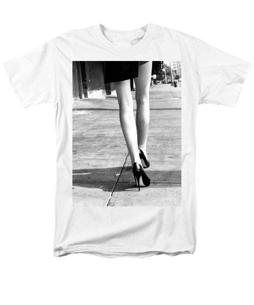 Legs New York Men's T-Shirt  (Regular Fit) by Rebecca Harman