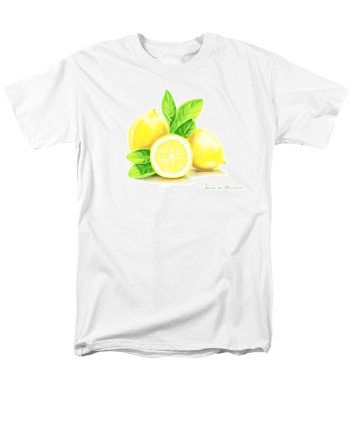 Lemons Men's T-Shirt  (Regular Fit) by Veronica Minozzi