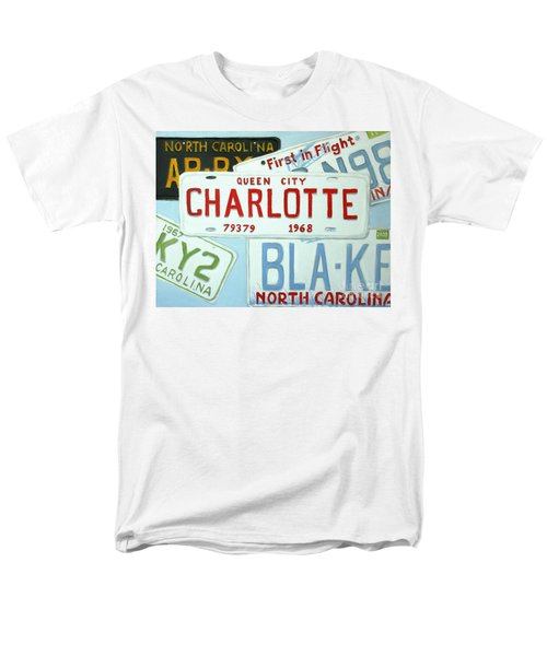 License Plates Men's T-Shirt  (Regular Fit) by Stacy C Bottoms