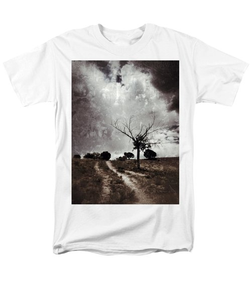 Lonely Tree Men's T-Shirt  (Regular Fit) by Mark David Gerson
