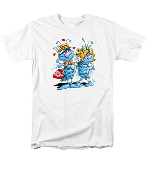 Men's T-Shirt  (Regular Fit) featuring the digital art Love Bugs by Scott Ross