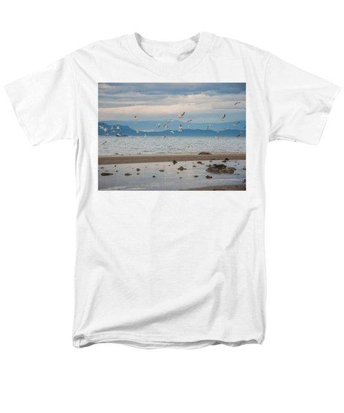 Herring Season  Men's T-Shirt  (Regular Fit) by Roxy Hurtubise