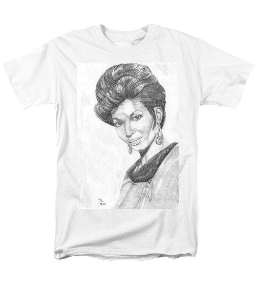 Lt. Uhura Men's T-Shirt  (Regular Fit)