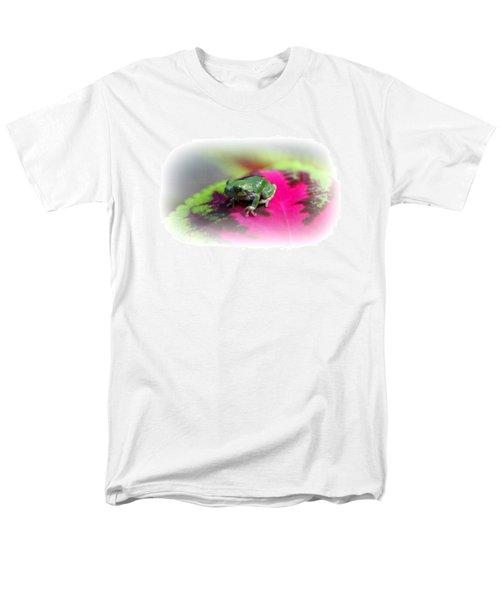 Magic Carpet Coleus Leaf Men's T-Shirt  (Regular Fit)