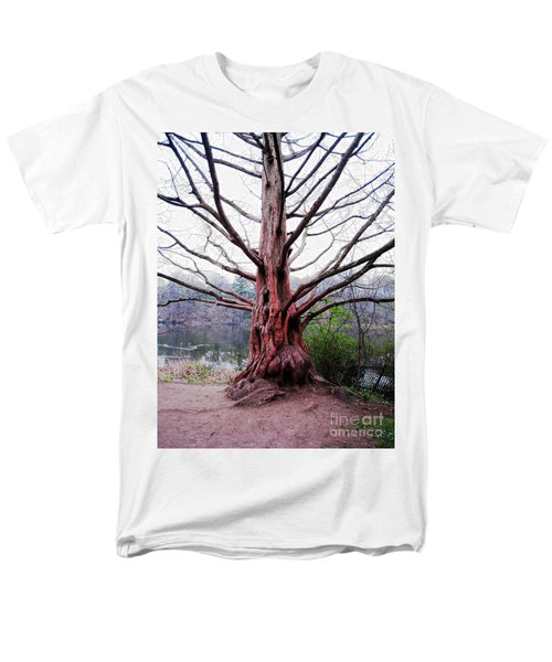 Men's T-Shirt  (Regular Fit) featuring the photograph Magic Tree by Nina Silver