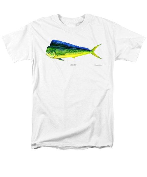 Mahi Mahi Men's T-Shirt  (Regular Fit) by Charles Harden