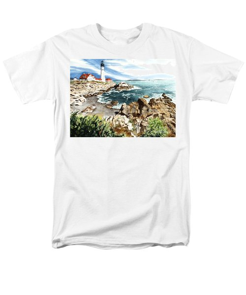 Maine Attraction Men's T-Shirt  (Regular Fit) by Barbara Jewell