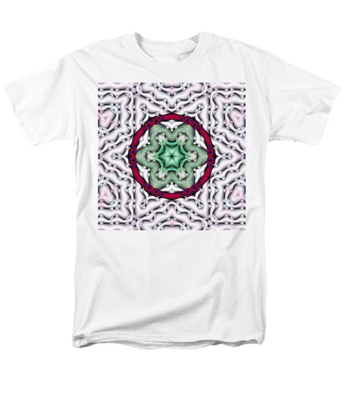 Men's T-Shirt  (Regular Fit) featuring the photograph Mandala 7 by Terry Reynoldson
