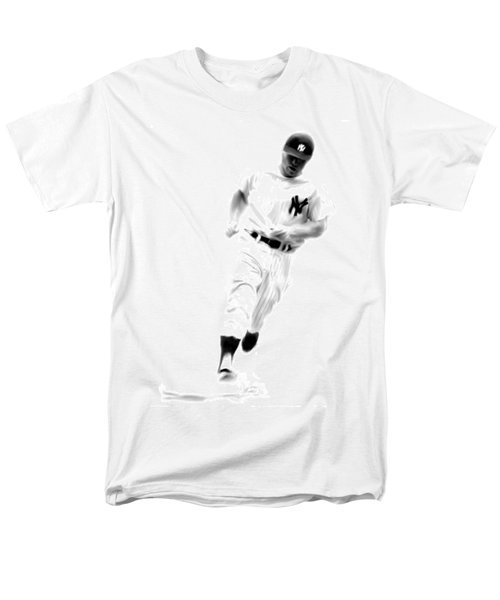 Mantles Gate  Mickey Mantle Men's T-Shirt  (Regular Fit) by Iconic Images Art Gallery David Pucciarelli