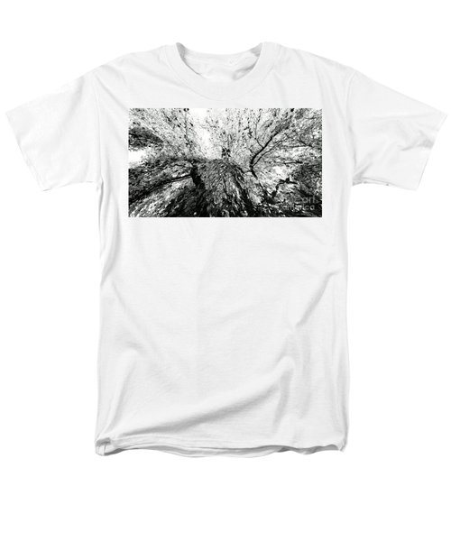 Men's T-Shirt  (Regular Fit) featuring the photograph Maple Tree Inkblot by CML Brown