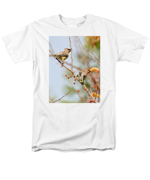 Men's T-Shirt  (Regular Fit) featuring the photograph Masked Duo by Kerri Farley
