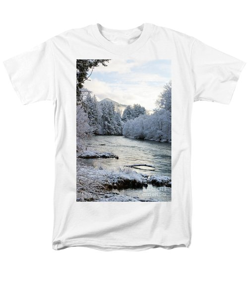 Men's T-Shirt  (Regular Fit) featuring the photograph Mckenzie River by Belinda Greb