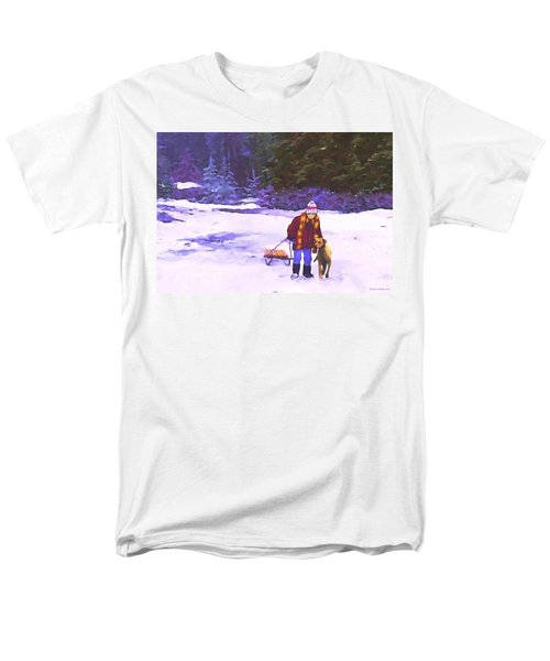 Me And My Buddy Men's T-Shirt  (Regular Fit) by Sophia Schmierer