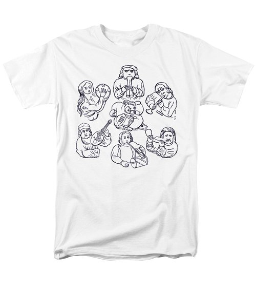Medieval Musicians Men's T-Shirt  (Regular Fit) by Phil Cardamone
