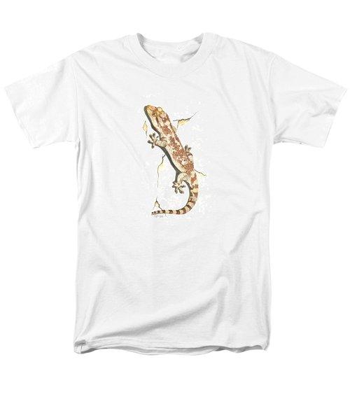 Mediterranean House Gecko Men's T-Shirt  (Regular Fit) by Cindy Hitchcock