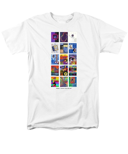 Posters Of Music Men's T-Shirt  (Regular Fit) by David Bearden