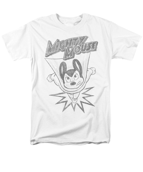 Mighty Mouse - Bursting Out Men's T-Shirt  (Regular Fit) by Brand A