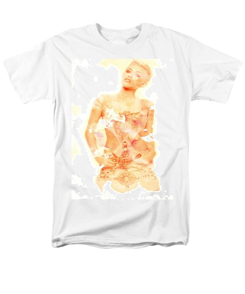 Men's T-Shirt  (Regular Fit) featuring the digital art Miley by Brian Reaves