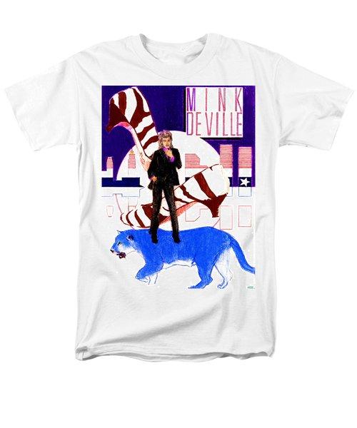 Mink Deville - Le Chat Bleu Men's T-Shirt  (Regular Fit) by Sean Connolly