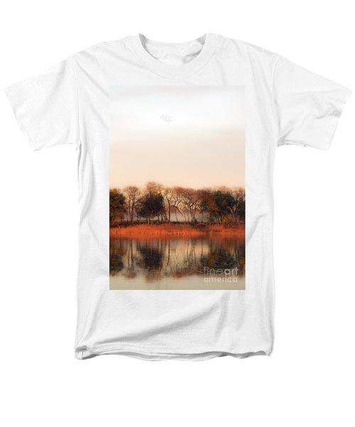 Misty Winter's Morning Men's T-Shirt  (Regular Fit) by Angela DeFrias