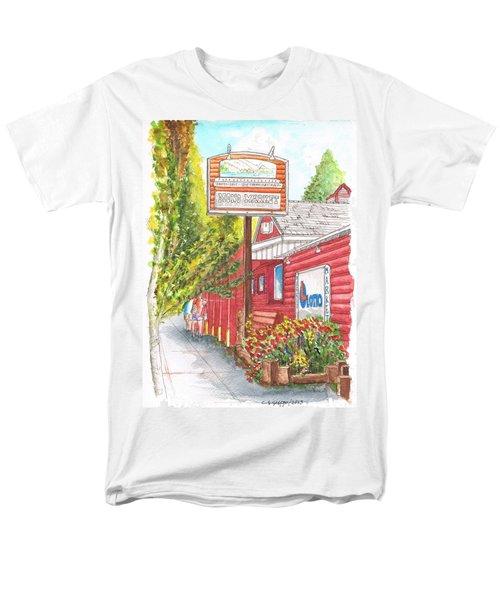Mono Market Near Mono Lake In Lee Vining-california Men's T-Shirt  (Regular Fit) by Carlos G Groppa