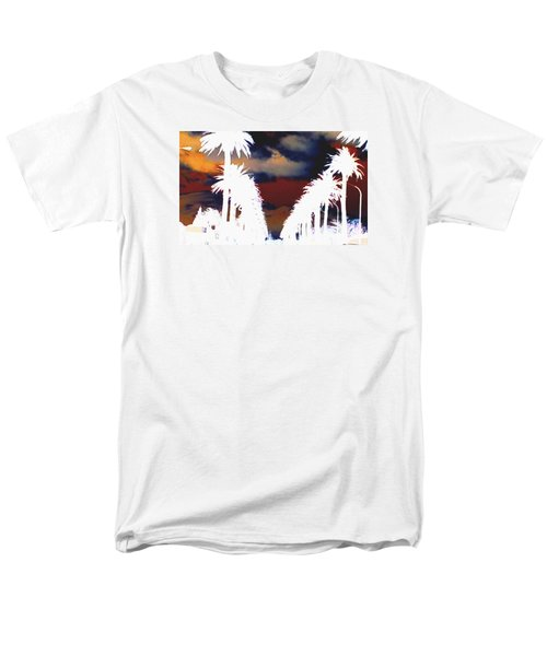 Men's T-Shirt  (Regular Fit) featuring the photograph Moody Blues by Linda Hollis