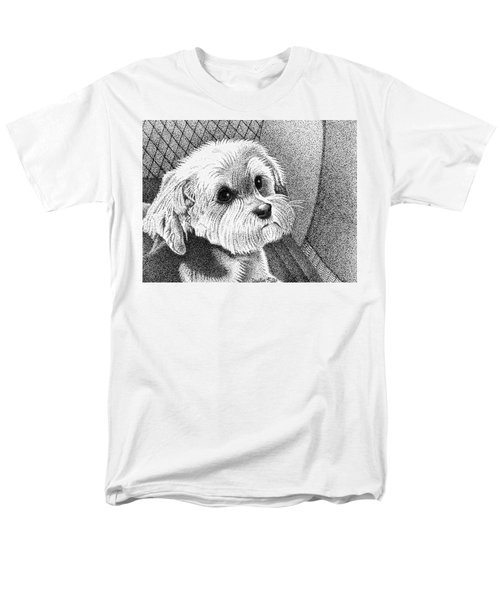 Morkie Men's T-Shirt  (Regular Fit) by Dustin Miller