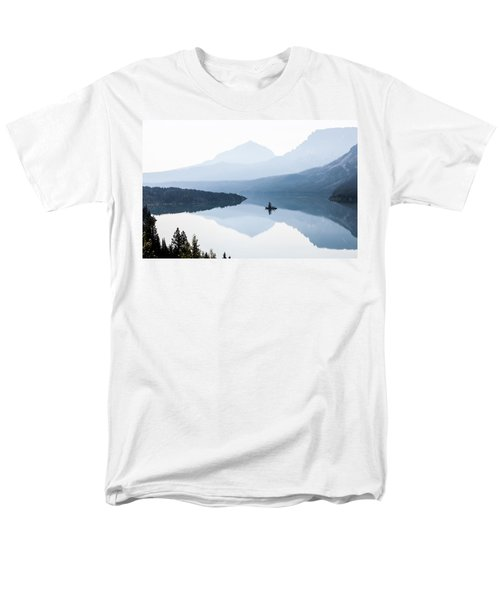 Men's T-Shirt  (Regular Fit) featuring the photograph Morning Mist by Aaron Aldrich