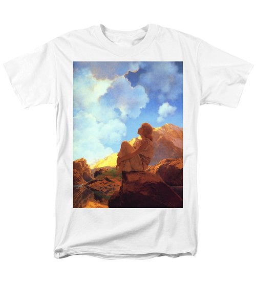 Morning Spring Men's T-Shirt  (Regular Fit) by Maxfield Parrish