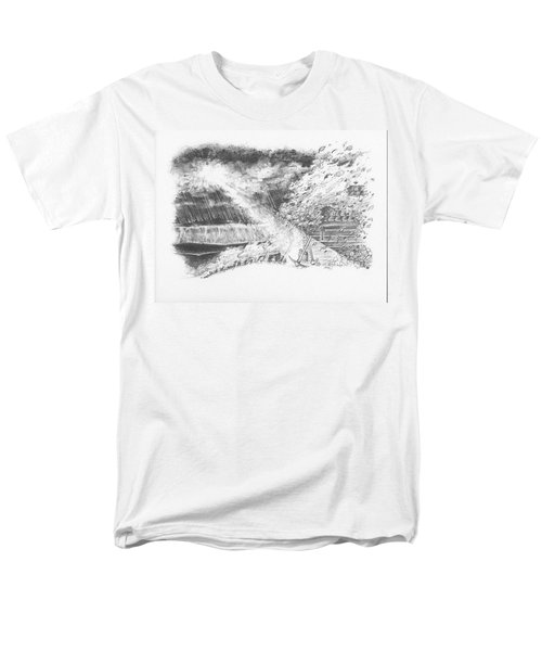 Mountain Top Men's T-Shirt  (Regular Fit) by Scott and Dixie Wiley