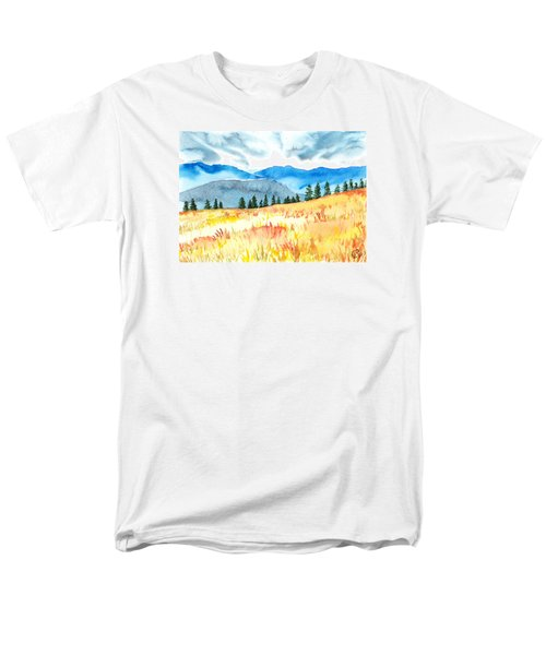 Mountain View Men's T-Shirt  (Regular Fit) by Kate Black