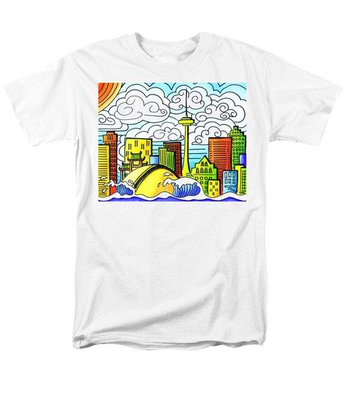 My Toronto Men's T-Shirt  (Regular Fit) by Oiyee At Oystudio