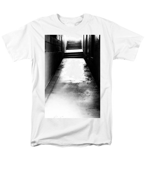 Mysterious Walkway Men's T-Shirt  (Regular Fit) by Shelby  Young