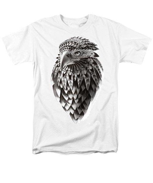 Native American Shaman Eagle Men's T-Shirt  (Regular Fit) by Sassan Filsoof