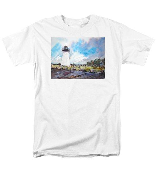 Ned's Point Light Men's T-Shirt  (Regular Fit) by P Anthony Visco