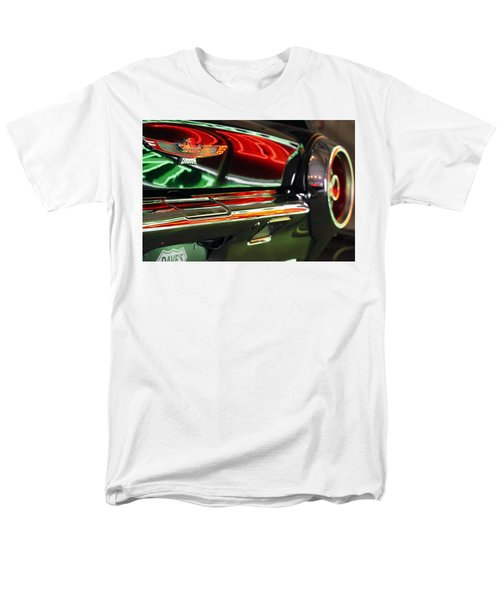 Men's T-Shirt  (Regular Fit) featuring the photograph Neon Reflections by Shoal Hollingsworth