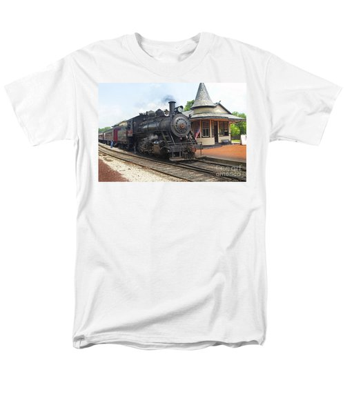 New Hope Station Men's T-Shirt  (Regular Fit) by Paul W Faust -  Impressions of Light