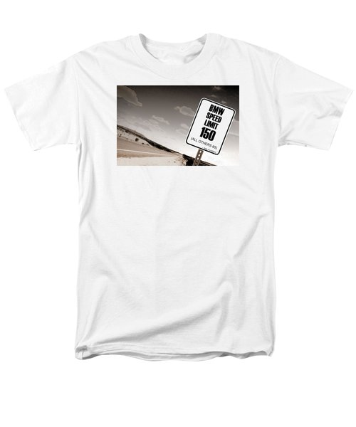 Men's T-Shirt  (Regular Fit) featuring the photograph New Limits Sepia by David Jackson