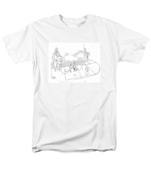 New Yorker May 22nd, 1943 Men's T-Shirt  (Regular Fit) by George Price