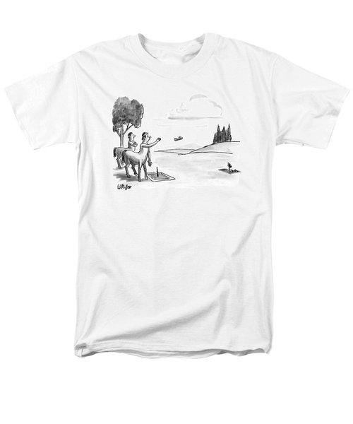 New Yorker September 24th, 1990 Men's T-Shirt  (Regular Fit)