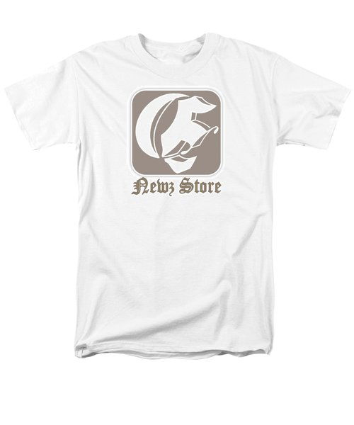 Men's T-Shirt  (Regular Fit) featuring the drawing Eclipse Newspaper Store Logo by Dawn Sperry