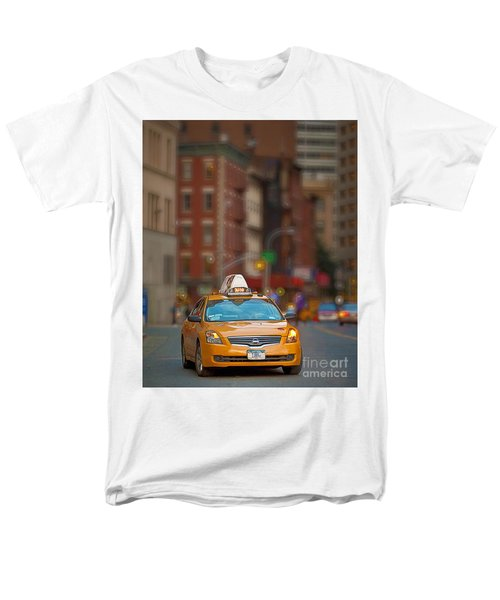 Taxi Men's T-Shirt  (Regular Fit) by Jerry Fornarotto