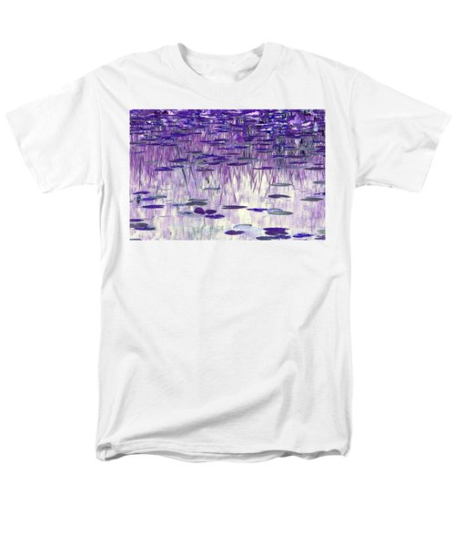 Men's T-Shirt  (Regular Fit) featuring the photograph Ode To Monet In Purple by Chris Anderson